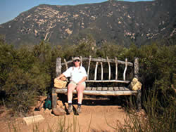 Diane on the Big Chair