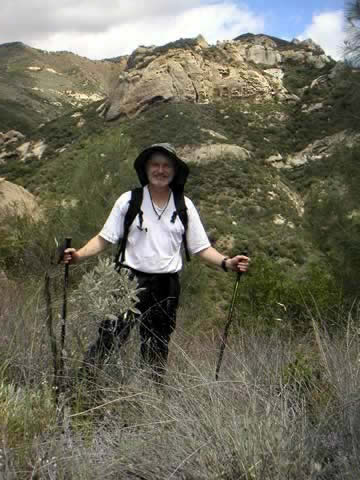 Tony near Lost Valley Trail